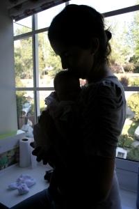 14962665 - Paula Elizalde y su hija recién recién nacido - 03_03_2011 - 23.00.26